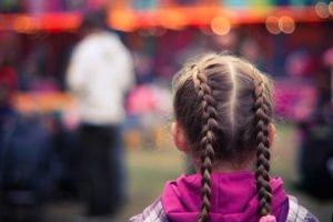 Child visitation by parents