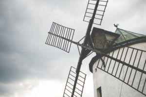 Windmill and vacation