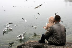 Men or Father with his Child in New Jersey- New Jersey child custody consultation