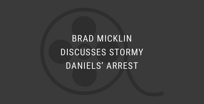 VIDEO: Brad Discusses Stormy Daniels' Arrest