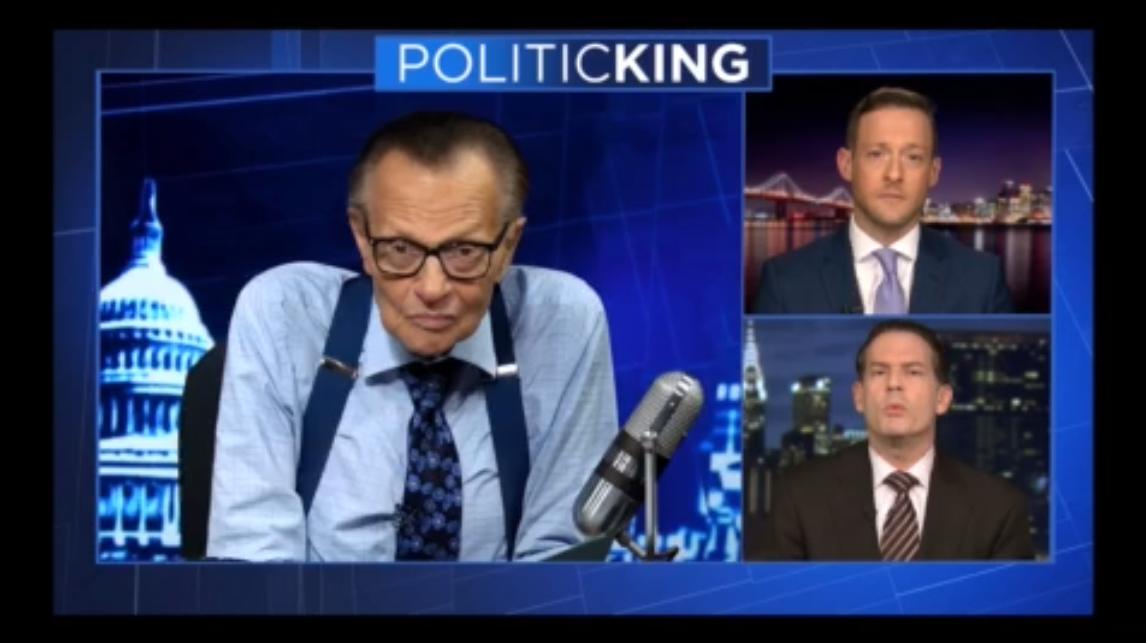 Brad Micklin Featured on Larry King's Politicking